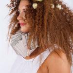 Karen Allen Model - Reddish Brunette Curls