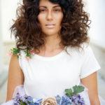 Karen Allen Model - Curly Brunette