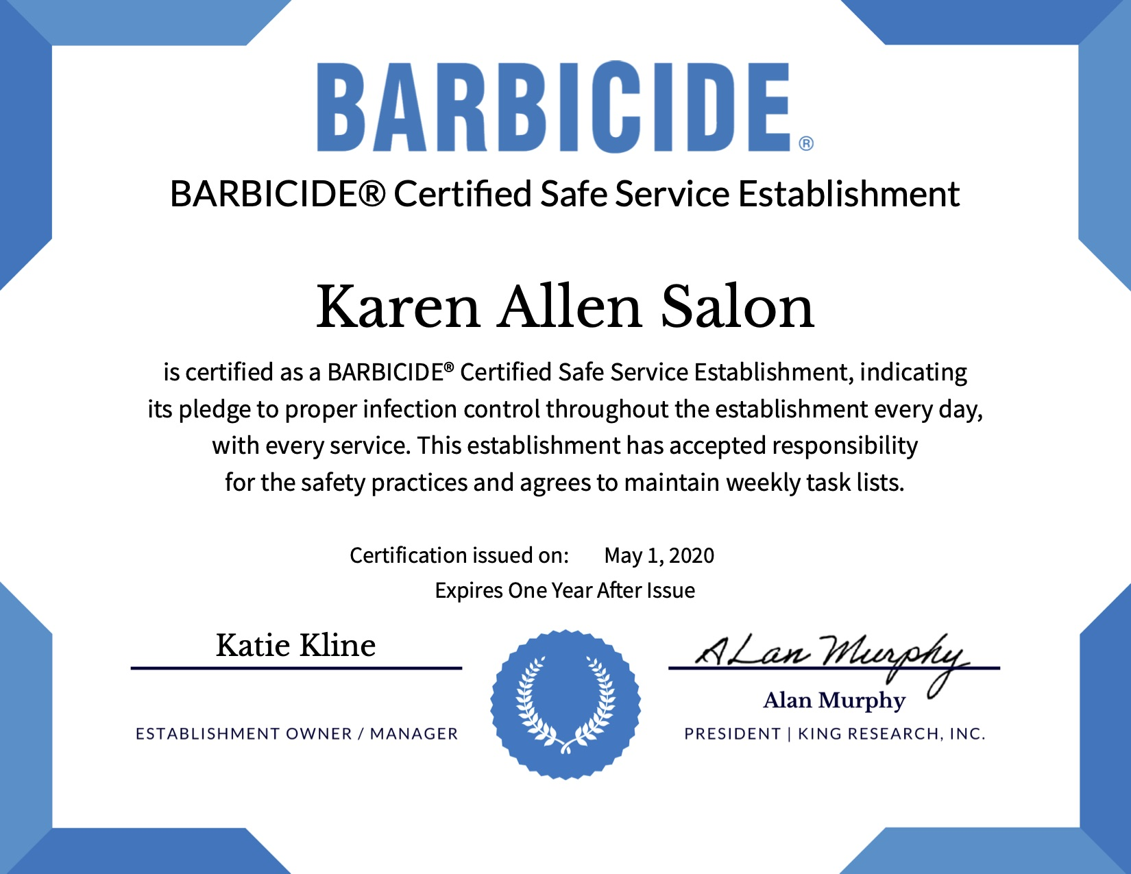 Barbicide KA
